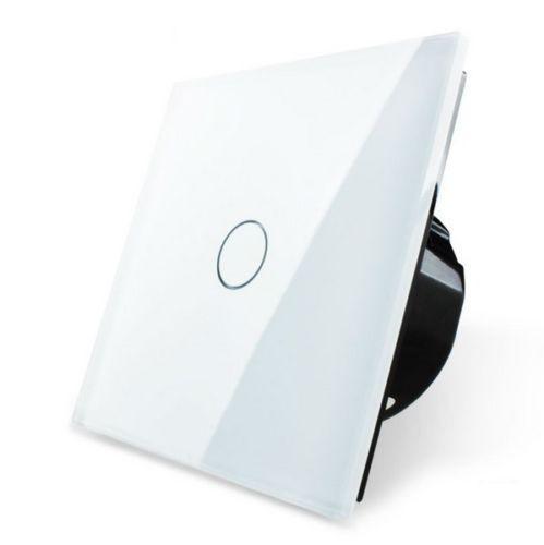 Dimmer- Lichtschalter 1 Fach VL-C701D-11 Weiß