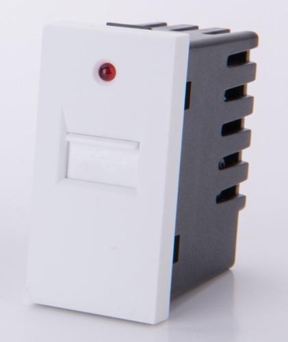 USB 1/2 zum aufladen Weis LUX4099 Weiß
