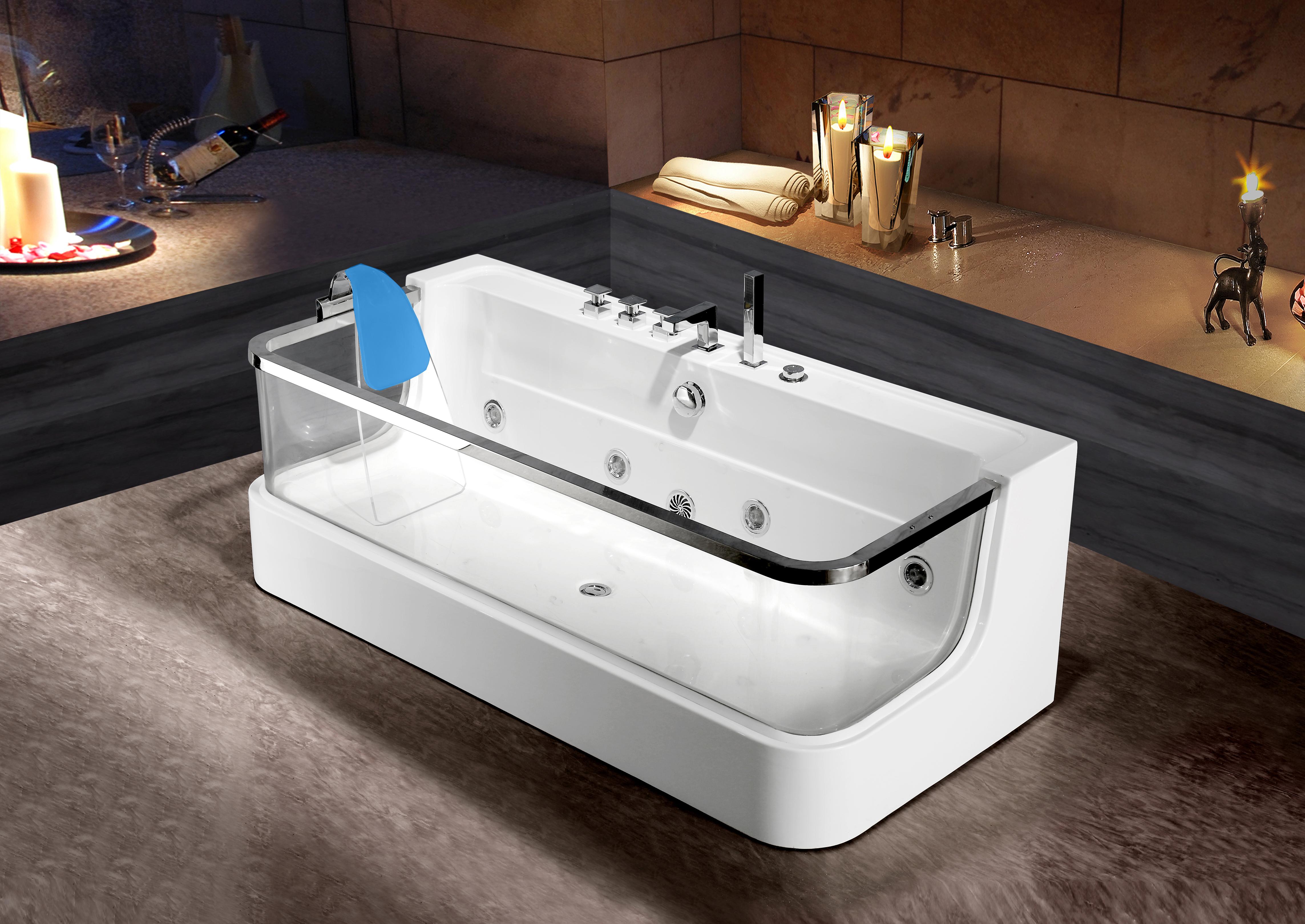 Vasca Da Bagno Larghezza 65 Cm : Vasca da bagno whirlpool whirlwanne piscina acrilico lxw ebay
