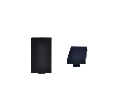 Schwarz Modul: Blende 1/2 Schwarz