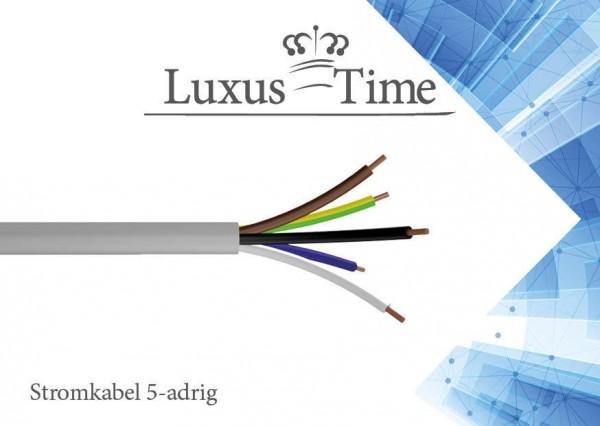 NYM-J 5x2,5 / 5x1,5 mm Elektro Installationsleitung 1-500m Mantelleitung Kabel 5 Adrig - NYM-J-5x1.5mm-10-Meter