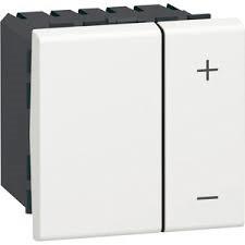 LED Dimmer Lichtschalter Wippe Kippschalter Dimmschalter weiß LEG-78407