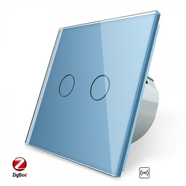LIVOLO ZigBee Smart Wechselschalter / Kreuzschalter VL-C702SZ-19 Blau